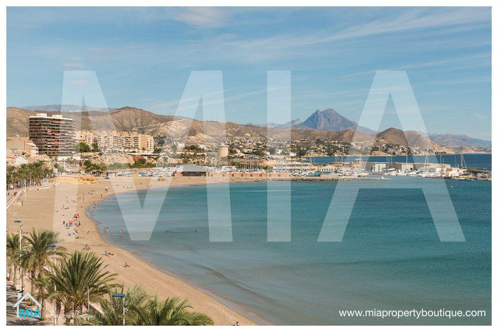Loft Bohemico con Fantasticas Vistas al Mar Mediterranneo en Campelo Alicante