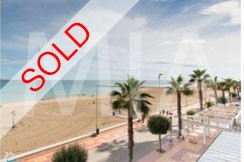 el campello seafront sold apartment