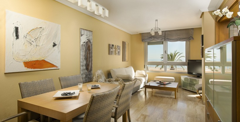 A superb apartment with fantastic beach views in the trendiest place in San Juan Beach, Alicante