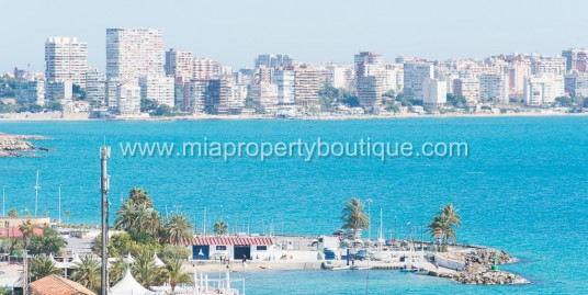 A Rare Opportunity to acquire a Sea front Penthouse, in Alicante City