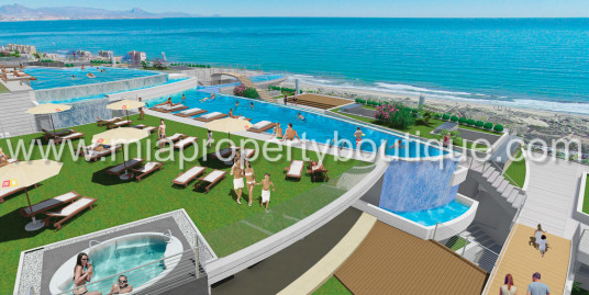 Brand New Modern Beach Front Flat, Arenales del Sol