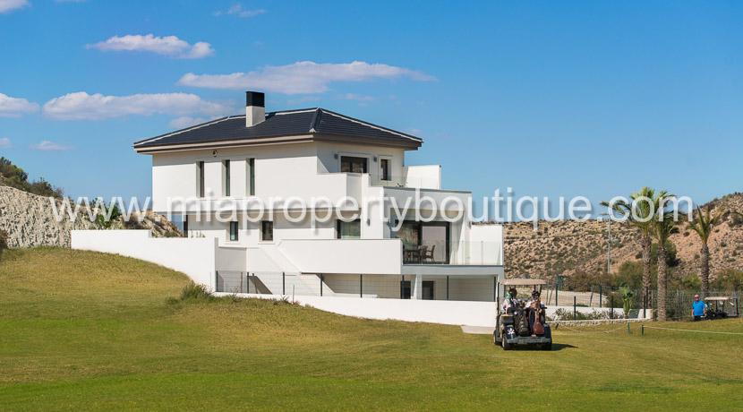 golf villa new development alicante costa blanca