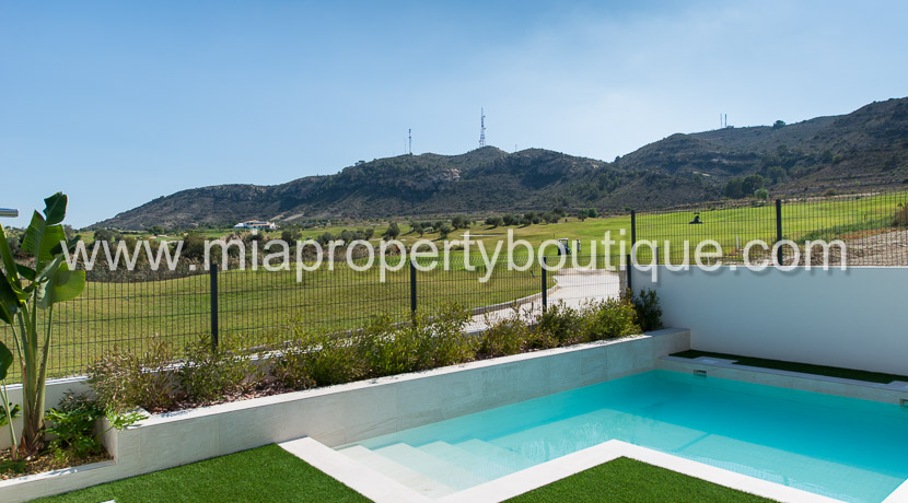 golf villa new devlopment alicante costa blanca