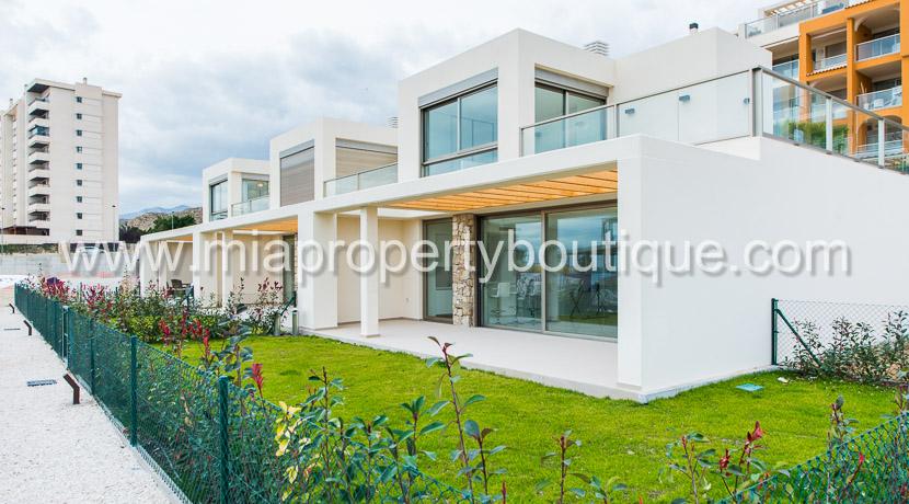 villajoyosa new beach bungalows for sale costa blanca