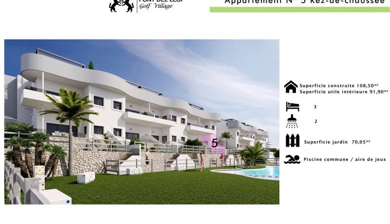 costa blanca golf apartments for sale