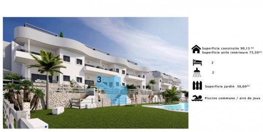 2 Bedroom Apartment For Sale Costa Blanca Golf Course