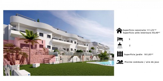 3 Bedroom Apartment For Sale Costa Blanca Golf Course