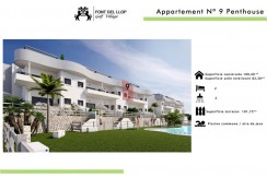 costa blanca golf penthouse Aapartments for sale