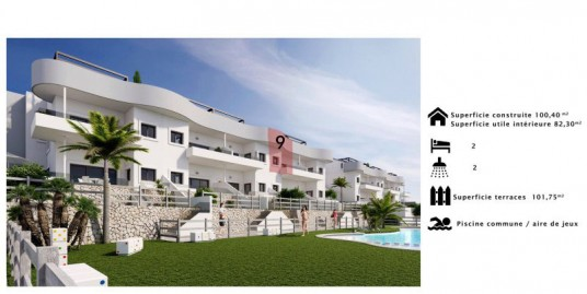 2 Bedroom Penthouse Apartment For Sale Costa Blanca Golf Course