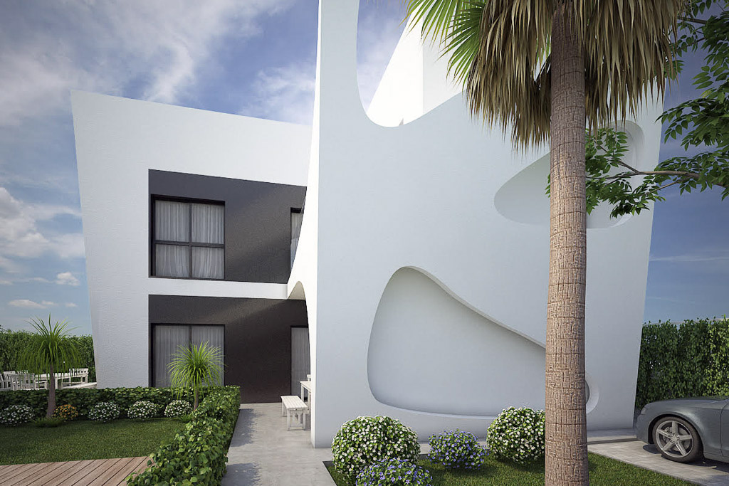 new designer costa blanca villas