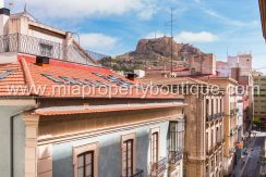 alicante city center flat for sale