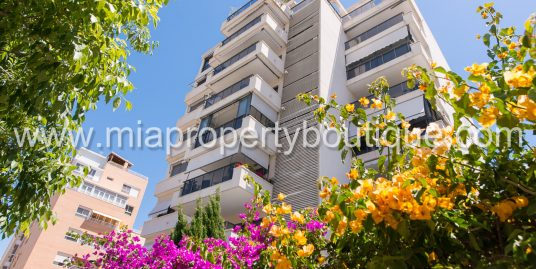 Modern, bright spanish flat on sale
