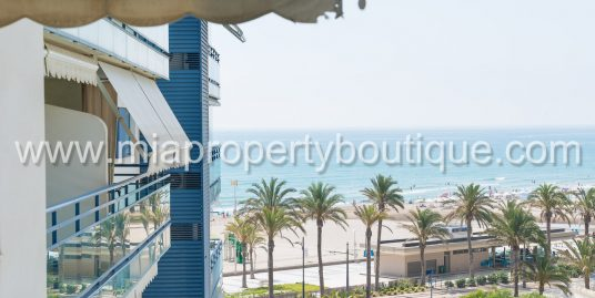 Idyllic Mediterranean Sea  Front Views, San Juan Playa