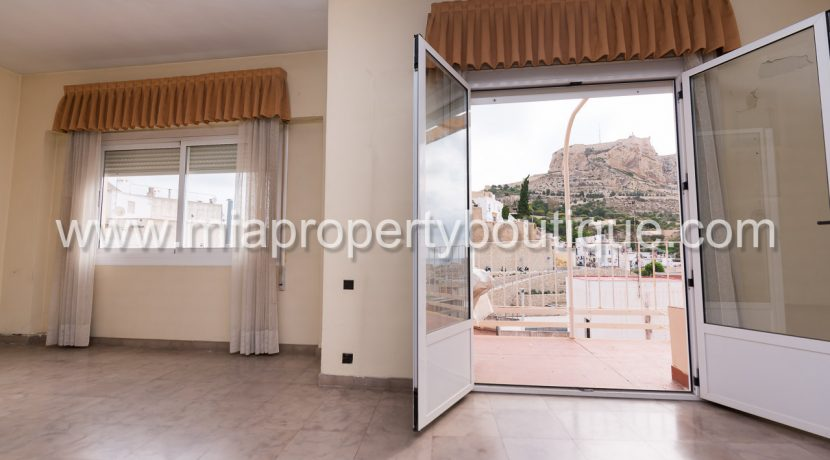 alicante apartment for sale castle views costa blanca