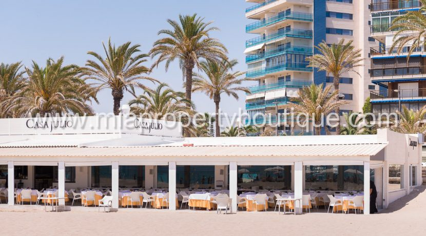 playa san juan apartment for sale sea views terrace costa blanca