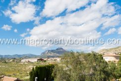 busot villa for sale mountain views-4