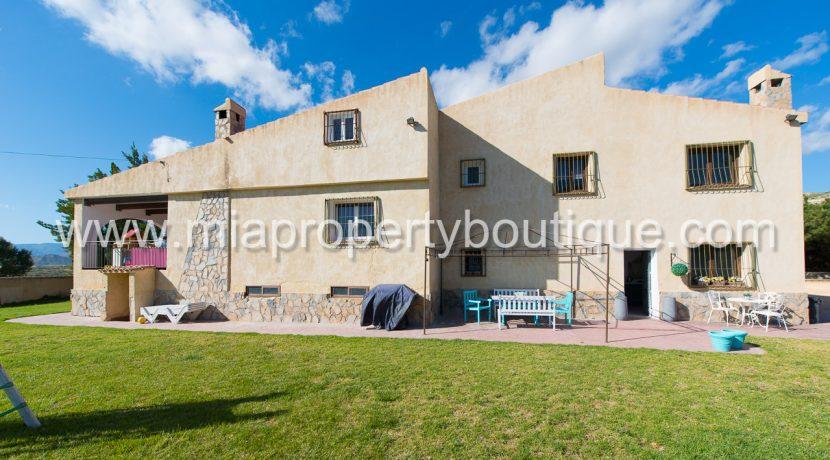 busot villa for sale mountain views-42