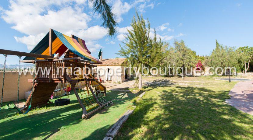 busot villa for sale mountain views-46