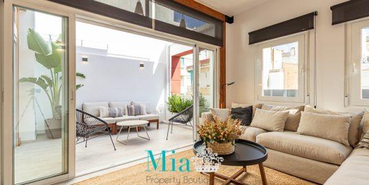 Vintage Terrace Apartment, Alicante City